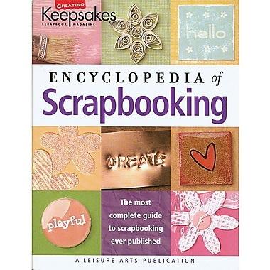 Leisure Arts, CK Encyclopedia Of Scrapbooking