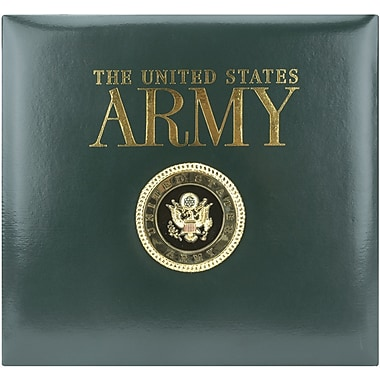 K&Company Army Postbound Scrapbook 12in. x 12in.