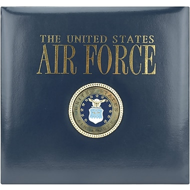 K&Company Air Force Postbound Scrapbook 12in.X12in.