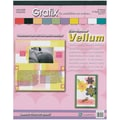Grafix Vellum Value Pack, 8.5in. x 11in., Color Assortment