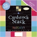 Diecuts With A View Textured Brights Cardstock Stack, 8in. x 8in.