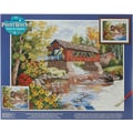 Dimensions Paint By Number Kit, 20in. x 16in., Country Thoroughfare