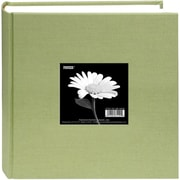 "Pioneer Cloth Photo Album With Frame, 9"" x 9"", Sage Green"