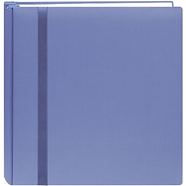 Pioneer Snapload Scrapbook Cloth With Ribbon,  12in. x 12in., Blue