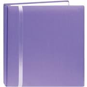 "Pioneer Snapload Scrapbook Cloth With Ribbon,  12"" x 12"", Purple"