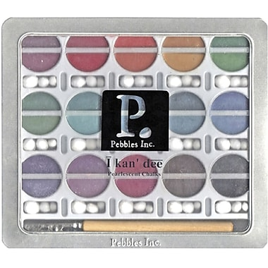 Pebbles I Kan'dee Chalk Set, Pearlescent Jewel Tones