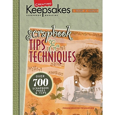 Leisure Arts, CK Scrapbook Tips And Techniques