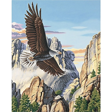 Dimensions Paint By Number Kit, 16in. x 20in., Soaring Eagle