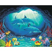 "Dimensions Paint By Number Craft Kit Painting, 20"" x 16"", Deep Sea Paradise (91302)"