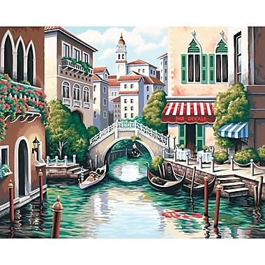 Dimensions Paint By Number Kit, 20in. x 16in., Scenic Canal