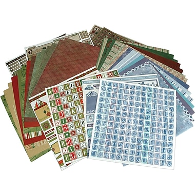 Hot Off The Press Paper Pizazz Papers & Accents-Christmas