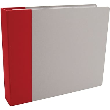 American Crafts Modern D-Ring Album, 12in. x 12in., Red