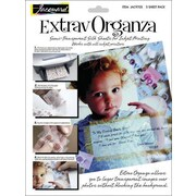 "Jacquard Products Extrav Organza Silk, 8.5"" x 11"", 5/Pkg"