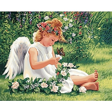 Dimensions Paint By Number Kit, 20in. x 16in., Darling Angel