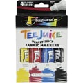Jacquard Products Tee Juice Fabric Art Marker Kits