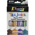 Jacquard Products Tee Juice Fabric Markers, Brights