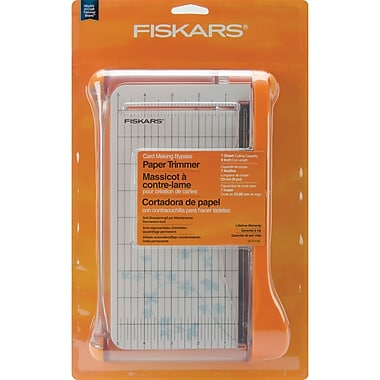 Fiskars Card Making Bypass Trimmer, 9in.