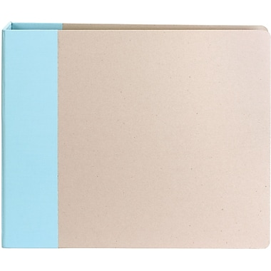 American Crafts Modern D-Ring Album, 12in. x 12in., Blue
