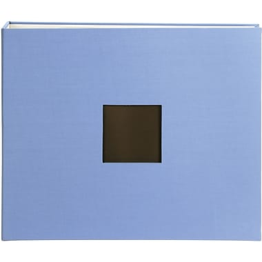 American Crafts Cloth D, Ring Album, 12in. x 12in., Sky