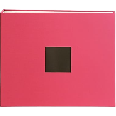 American Crafts Cloth D, Ring Album, 12in. x 12in., Taffy