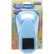 Uchida Clever Lever Super Jumbo Craft Punch, Scallop Square