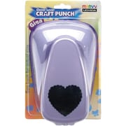 Uchida Clever Lever Giga Craft Punch, Scallop Heart