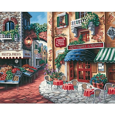 Dimensions Paint By Number Kit, 20in. x 16in., Taste Of Italy