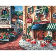 "Dimensions Paint By Number Craft Kit Painting, 20"" x 16"", Taste Of Italy (91320)"