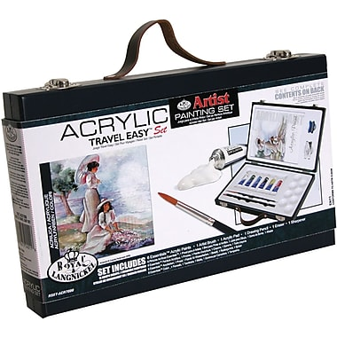 Royal Brush Travel Easy Artist Set, Acrylic Paints