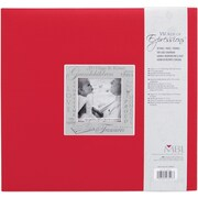 MBI Expressions Postbound Album, 12 x 12, Grandchildren - Red