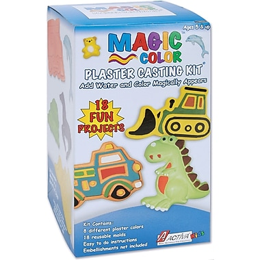 Activa Magic Color Plaster Casting Kits-Everyday Boys
