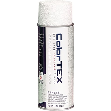 Design Master ColorTex Textured Finish Spray Paint, 11 Ounces, Flurry