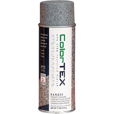 Design Master ColorTex Textured Finish Spray Paint, 11 Ounces, Quarry