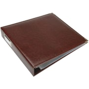 We R Memory Keepers We R Faux Leather 3-Ring Binder, 12 x 12, Cinnamon