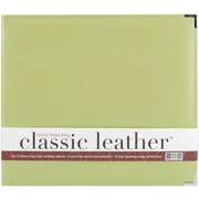 We R Memory Keepers We R Faux Leather 3-Ring Binder, 12 x 12, Kiwi