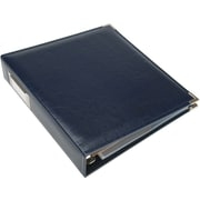 We R Memory Keepers Faux Leather 3-Ring Binder, 8.5 x 11, Navy