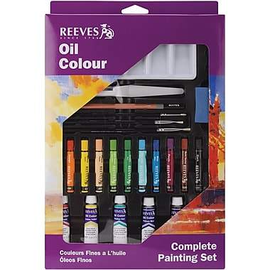 Reeves Complete Painting Set, Oil Color (8212143)