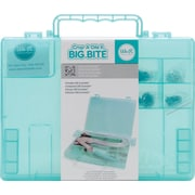 We R Memory Keepers Crop-A-Dile II Big Bite Carrying Case, Aqua