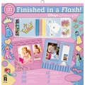Hot Off The Press Finished In A Flash Page Kit, 12in. x 12in., Disney Princess