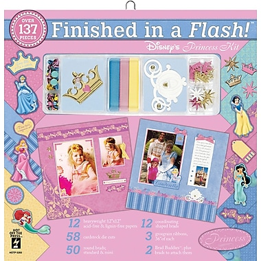 Hot Off The Press Finished In A Flash Page Kits