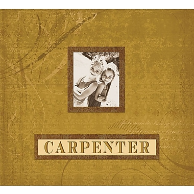 K&Company Carpenter Fan Postbound Album 12in. x 12in.