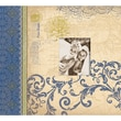 K&Company Blue Awning Postbound Album 12in. x 12in.