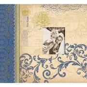 K&Company Blue Awning Postbound Album 12 x 12
