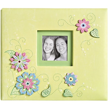 K&Company Sparkly Sweet Postbound Album, 8.5in. x 8.5in.