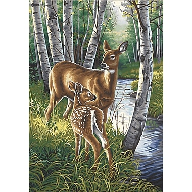 Dimensions Paint By Number Kit, 14in. x 20in., White-Tailed Deer
