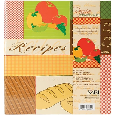 MBI Recipes 3-Ring Scrapbook Kit