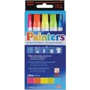 Elmers/X-Acto Elmers Painters Opaque Paint Markers Medium Point, 5/Pkg, Neon Colors