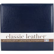 We R Memory Keepers We R Classic Leather Postbound Album, 12 x 12, Navy