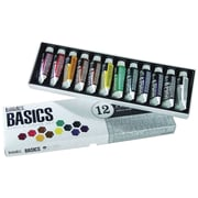 Reeves Liquitex Basics Non-toxic 0.73 oz. Acrylic Paint, 12/Set (101012)