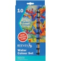 Reeves Watercolor Paint, 22ml, 10/Pkg, Assorted Colors